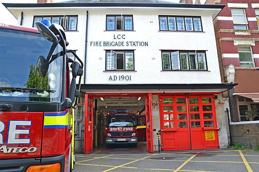 Fire Brigade Station West Hampstead